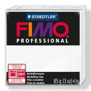 Полимерная глина Fimo Professional, 85 гр. №0, белый