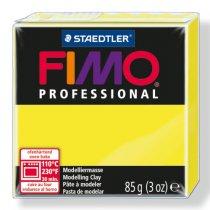 Полимерная глина Fimo Professional, 85 гр. №1, желтый