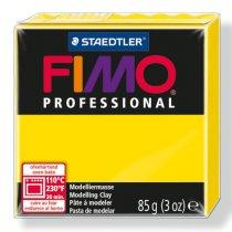 Полимерная глина Fimo Professional, 85 гр. №100, чисто-желтый