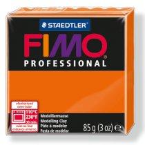 Полимерная глина Fimo Professional, 85 гр. №4, оранжевый