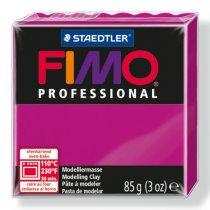Полимерная глина Fimo Professional, 85 гр. №210, чисто-пурпурный