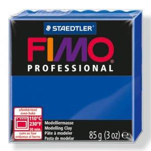 Полимерная глина Fimo Professional, 85 гр. №33, ультрамарин