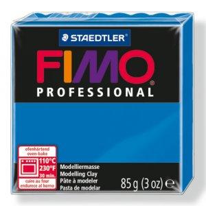 Полимерная глина Fimo Professional, 85 гр. №300, чисто-синий