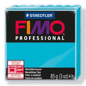 Полимерная глина Fimo Professional, 85 гр. №32, бирюзовый
