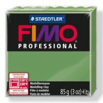 Полимерная глина Fimo Professional, 85 гр. №57, зеленый лист