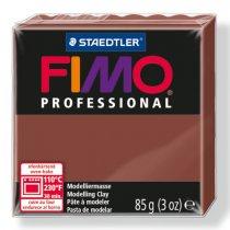 Полимерная глина Fimo Professional, 85 гр. №77, шоколад