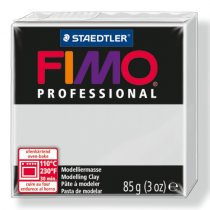 Полимерная глина Fimo Professional, 85 гр. №80, серый дельфин