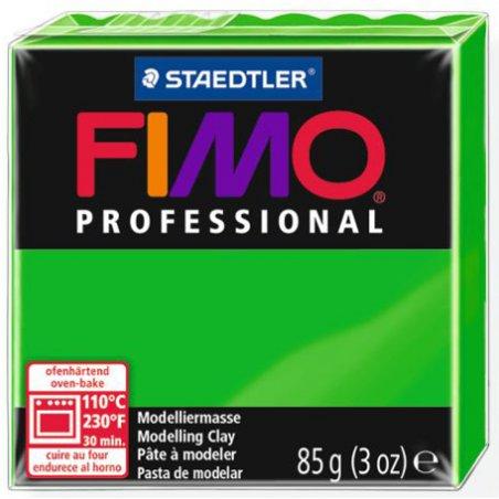 Полимерная глина Fimo Professional, 85 гр. №5, ярко-зеленый