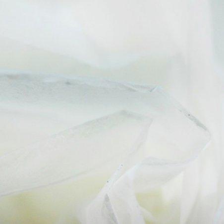 Бумага тишью, цвет - белый