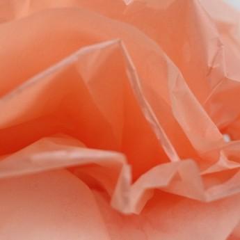 Бумага тишью, цвет - лососевый