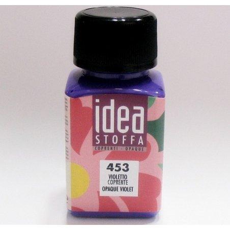 Покрывная краска для ткани Фиолетовый Idea Stoffa №453