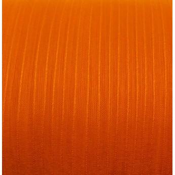 Органза, цвет оранжевый, 7мм