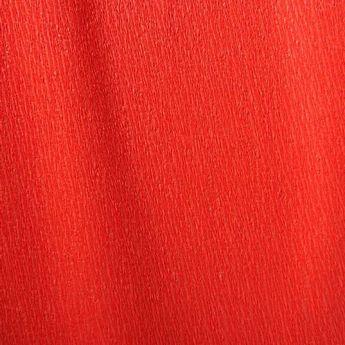 Бумага крепированная, цвет - красный, Украина
