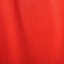 Бумага крепированная (креп бумага) 32 г/м2, цвет - красный, Украина