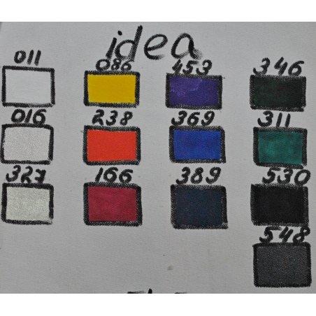 Покрывная краска для ткани Синий морской Idea Stoffa №389