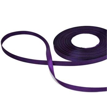 Репсовая лента 06 см, цвет - фиолетовый