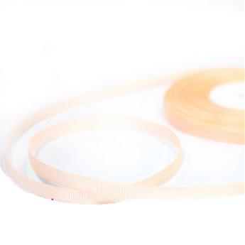 Репсовая лента 06 см, цвет - персиковый