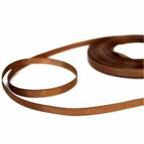 Репсовая лента 06 см, цвет - коричневый