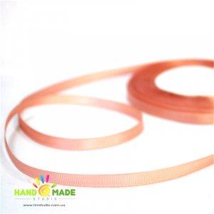 Репсовая лента 06 см, цвет - розовый пудровый