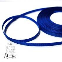 Репсовая лента 06 см, цвет - темно-синий