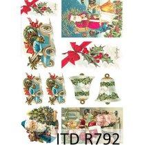 Рисовая карта для декупажа R792, 210х297 мм (А4)