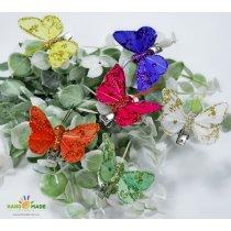 Декоративная бабочка маленькая