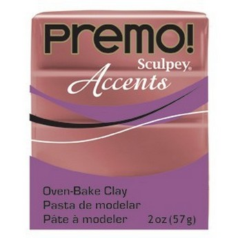 Полимерная глина Premo Accents медь, 5067