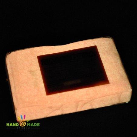 Полимерная глина фосфоресцентная красного свечения, 250г, 0503
