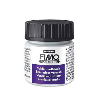 Лак для полимерной глины FIMO (Фимо) матовый, 35 мл