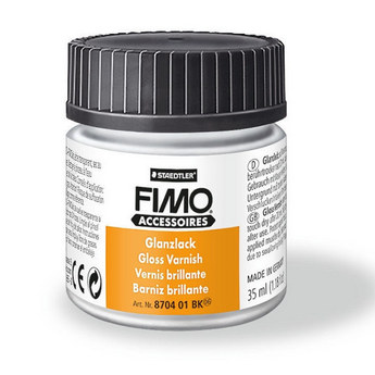 Лак для полимерной глины FIMO (Фимо) глянцевый, 35 мл