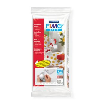 Самозатвердевающая пластика FIMO®Air Basic White, 500г, белый