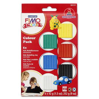Набор полимерной глины для лепки Fimo Kids 01