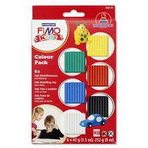 Набор полимерной глины для лепки Fimo Kids 6x42 г 8032 01