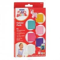Набор полимерной глины для лепки Fimo Kids 6x42 г 8032 02