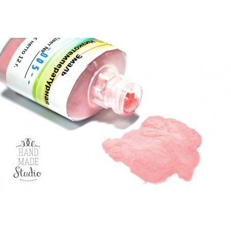 Низкотемпературная эмаль, цвет - светло-розовый 005, 12г