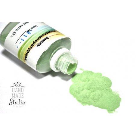 Низкотемпературная эмаль, цвет - нежно-зеленый 011, 12г