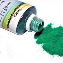 №012 Низкотемпературная эмаль, цвет - зеленый, 12г