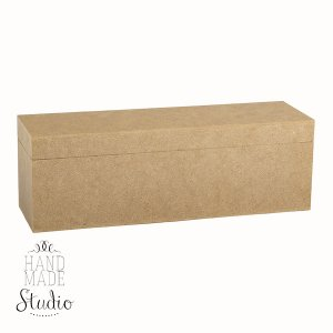 Шкатулка прямоугольная на 3 отделения, 29х9,5х8,5 см