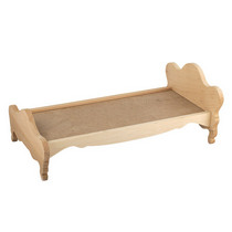 Кровать кукольная деревянная