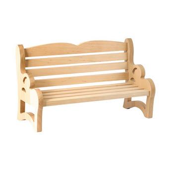 Скамья кукольная деревянная с планочками