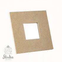 Декоративная рамочка с зеркалом 10х10 см