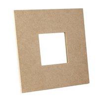 Декоративная рамочка с зеркалом 8х8 см
