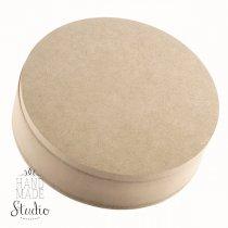 Шкатулка круглая, Ø 19,5 см