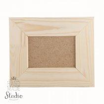 10х15 см Декоративная рамочка со вставкой стекло