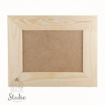 13х18х5  см Деревянная рамочка  со стеклом