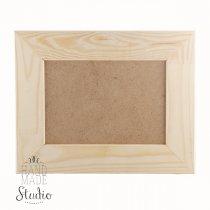 21х30х5 см Деревянная рамочка без стекла