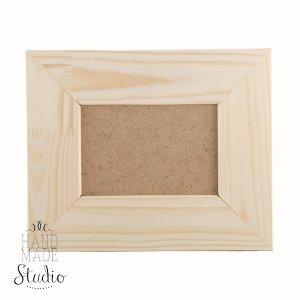 9х13 см Деревянная рамочка  со вставкой стекло