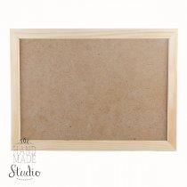 13х18х2 см Деревянная рамочка со стеклом