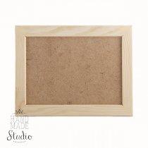 9х13х2 см Деревянная рамочка со стеклом