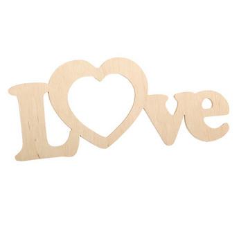 """Слово """"Love""""  c сердцем"""